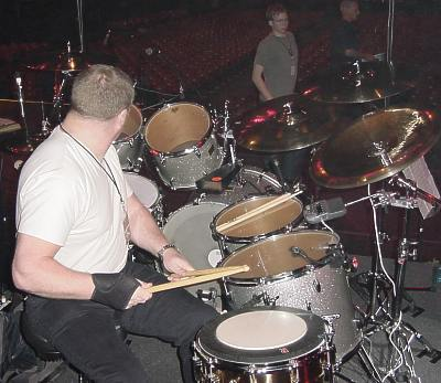 the official roxy music tour 2001 paul thompson equipment